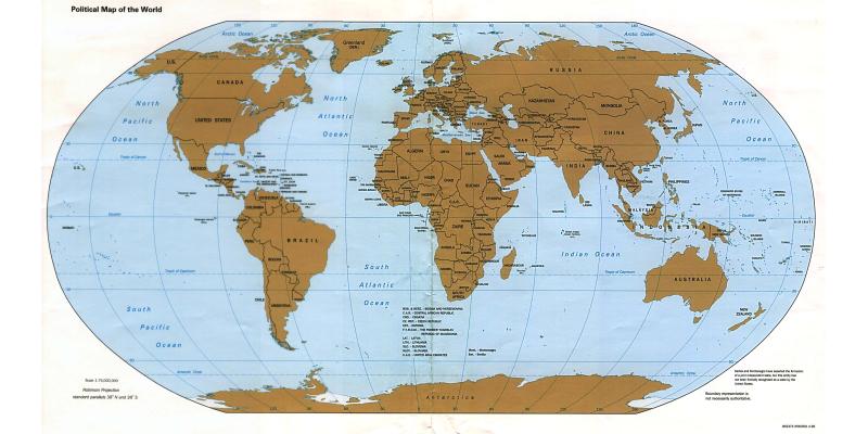 La coyuntura mundial en la tercera semana de abril