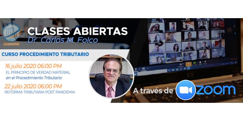 Clases Abiertas del Dr. Carlos M. Folco