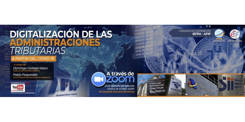 Digitalización de las Administraciones Tributarias