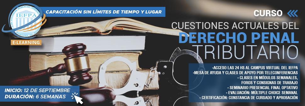 CUESTIONES ACTUALES DE DERECHO PENAL TRIBUTARIO